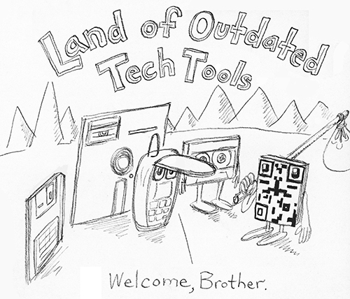 The Land of Misfit, Outdated Tech Tools