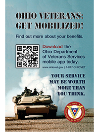 Veterans Services app promo poster
